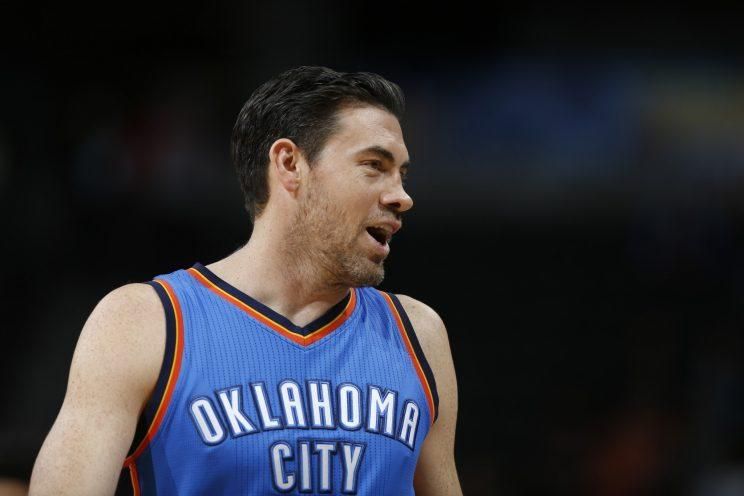 Nick Collison was selected in the 2003 NBA draft. (AP)