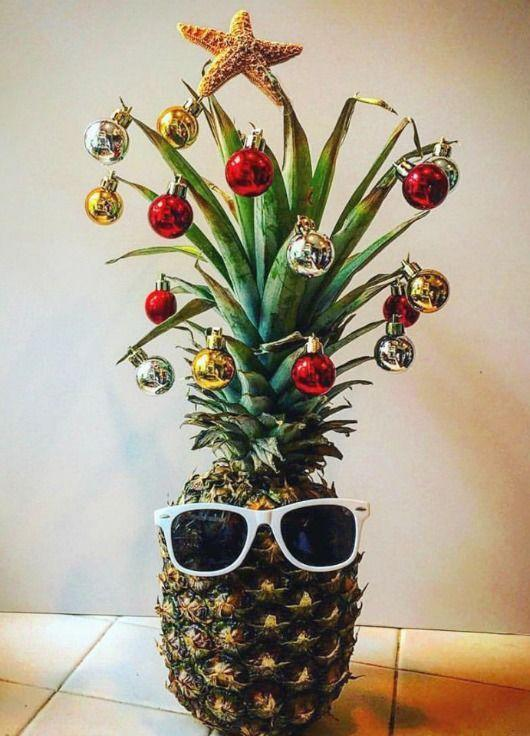 <p>Yep, you read that correctly. The pineapple has quickly overtaking the traditional tree in the festive stakes as Pinterest has reported a 3,406 percent increase in saves this year.<br><br>Whether you choose to decorate yours in baubles or tinsel, it's sure to prove a talking point at the dinner table. <em>[Photo: Pinterest]</em> </p>