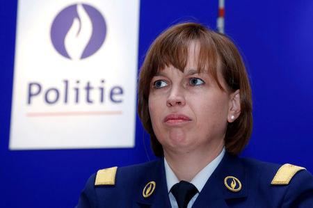 FILE PHOTO: Head of the Belgian federal police De Bolle addresses a news conference in Brussels