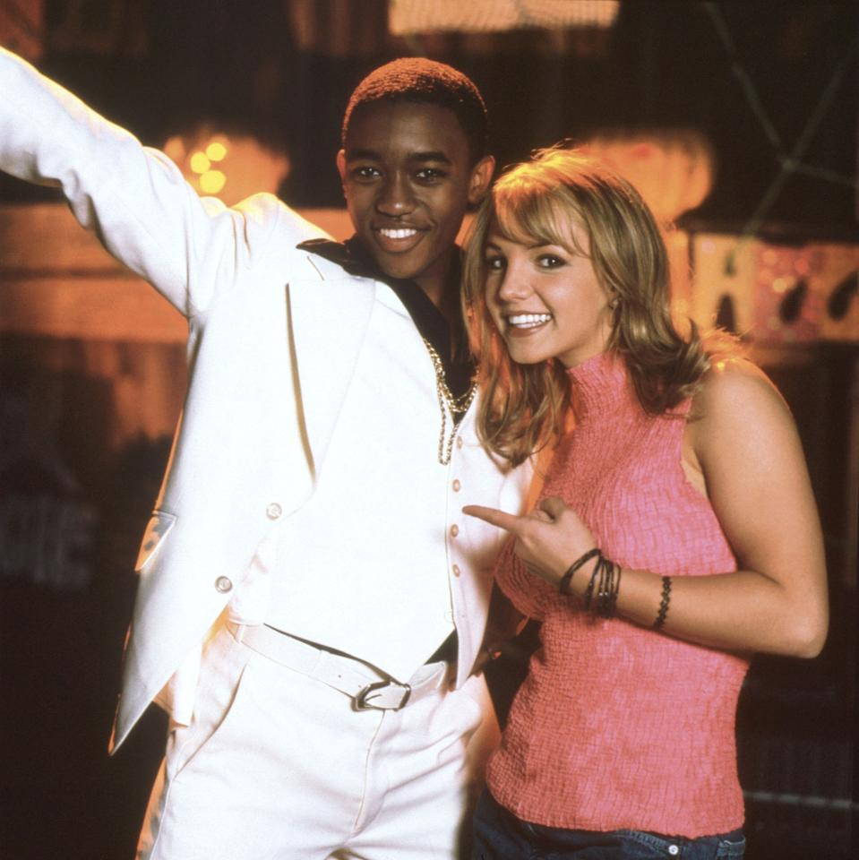 "Lee Thompson Young and Britney Spears in ""The Famous Jett Jackson"" episode, ""Ghost Dance."""