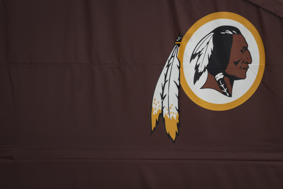 "The ""Redskins"" moniker is on the way out, and a recent Yahoo Sports poll indicated that fans favor ""RedTails"" as a replacement. (Photo by Drew Angerer/Getty Images)"