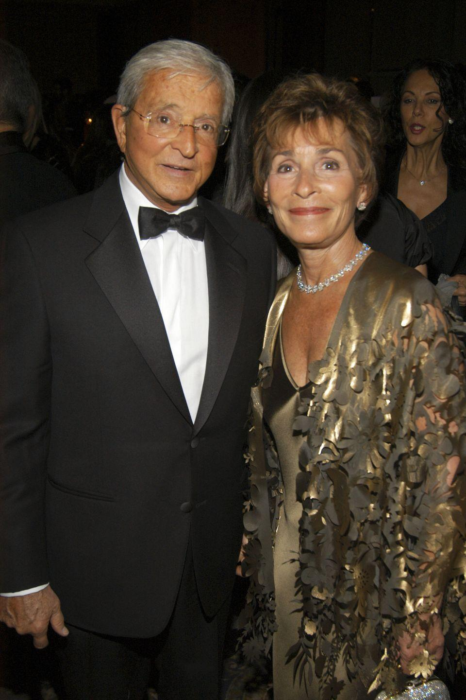 """<p>Judge Judy Sheindlin met her husband, Jerry Sheindlin, <a href=""""https://www.countryliving.com/life/entertainment/a27815965/judge-judy-sheindlin-husband-jerry-sheindlin-marriage-divorce-kids/"""" rel=""""nofollow noopener"""" target=""""_blank"""" data-ylk=""""slk:while working as a prosecutor"""" class=""""link rapid-noclick-resp"""">while working as a prosecutor</a>. The couple married in 1976 and had three children, but after 14 years, the couple divorced in 1990. They didn't stay apart for too long, remarrying a year later, and they've been together ever since. 'I missed Jerry,' Judge Judy told <a href=""""https://www.closerweekly.com/posts/judge-judy-husband-jerry-sheindlin-marriage-143331/"""" rel=""""nofollow noopener"""" target=""""_blank"""" data-ylk=""""slk:Closer Weekly"""" class=""""link rapid-noclick-resp"""">Closer Weekly</a>. 'I like to have someone to fuss over. I like to be mated. It's natural for me. I learned the hard way that sometimes what you think makes you happy won't.'</p>"""