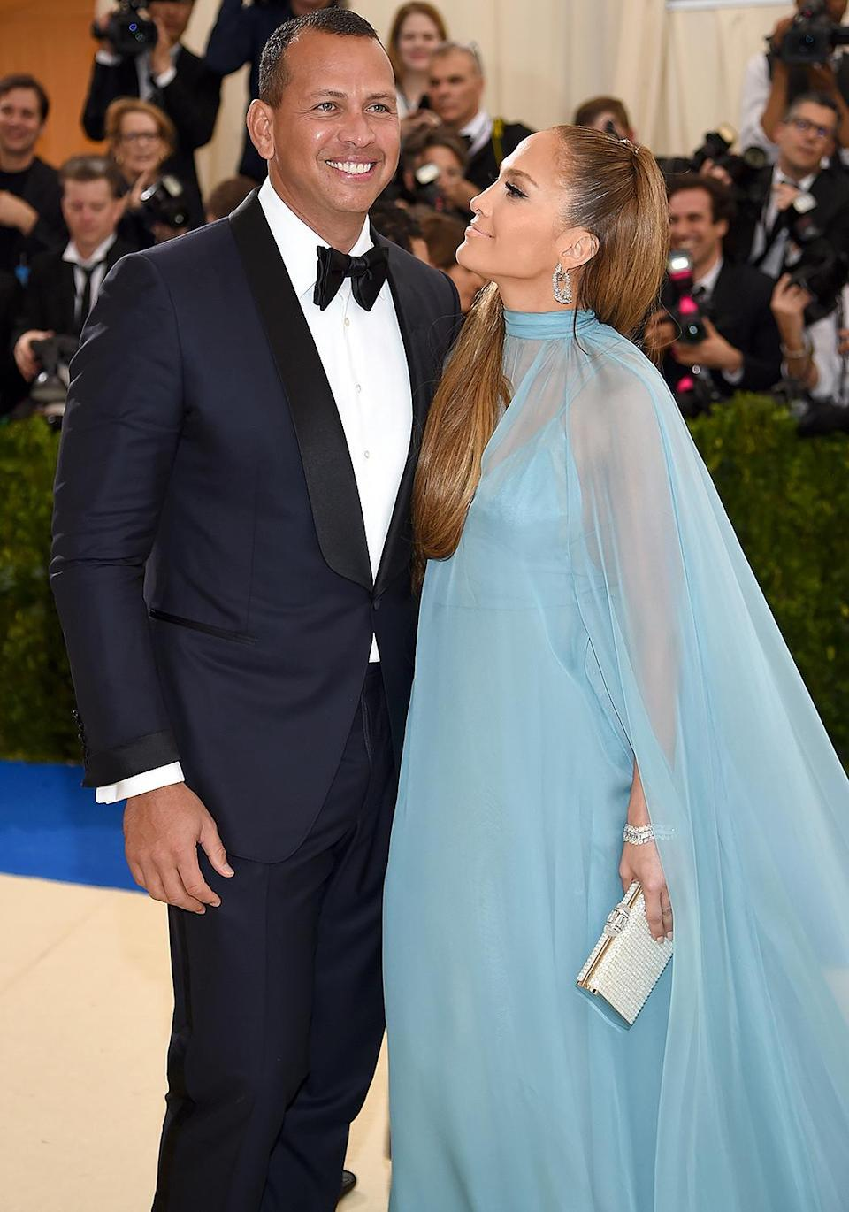 <p>The pair made their red carpet debut at the 2017 Met Gala. </p>