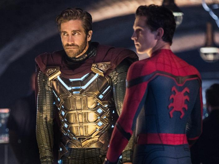 spider man far from home mysterio peter parker