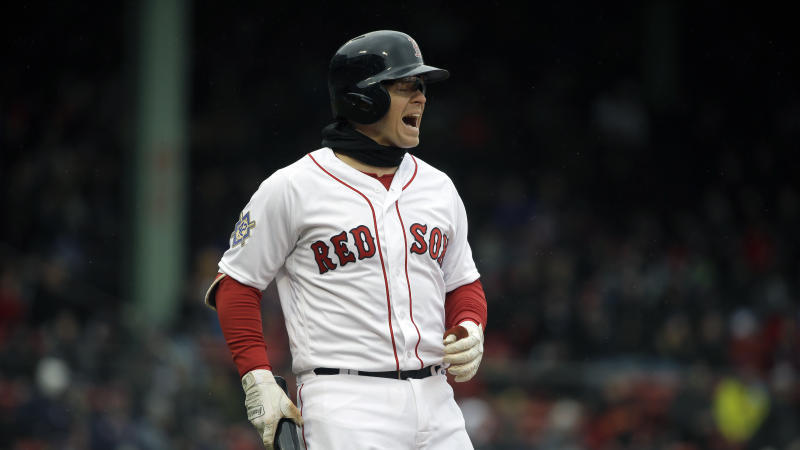 The Red Sox lost a few games this week, but not enough to move them from the No. 1 spot in this week's power rankings. (AP)