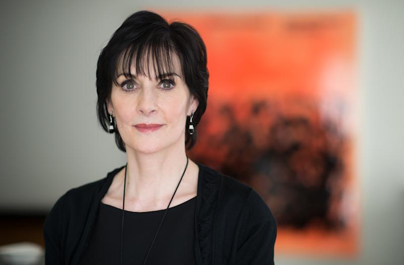 The singer Enya poses in a hotel inBerlin,Germany, 29 October 2015. The Irish singer's new album 'Dark Sky Island' comes out on 20 November 2015. It is her first album in many years. Enya, with 75 million album sales, four Grammy Awards, an ECHO award, and many other awards, ranks among the most successful artists of all time. Photo:BERNDVONJUTRCZENKA/dpa | usage worldwide (Photo by Bernd von Jutrczenka/picture alliance via Getty Images)