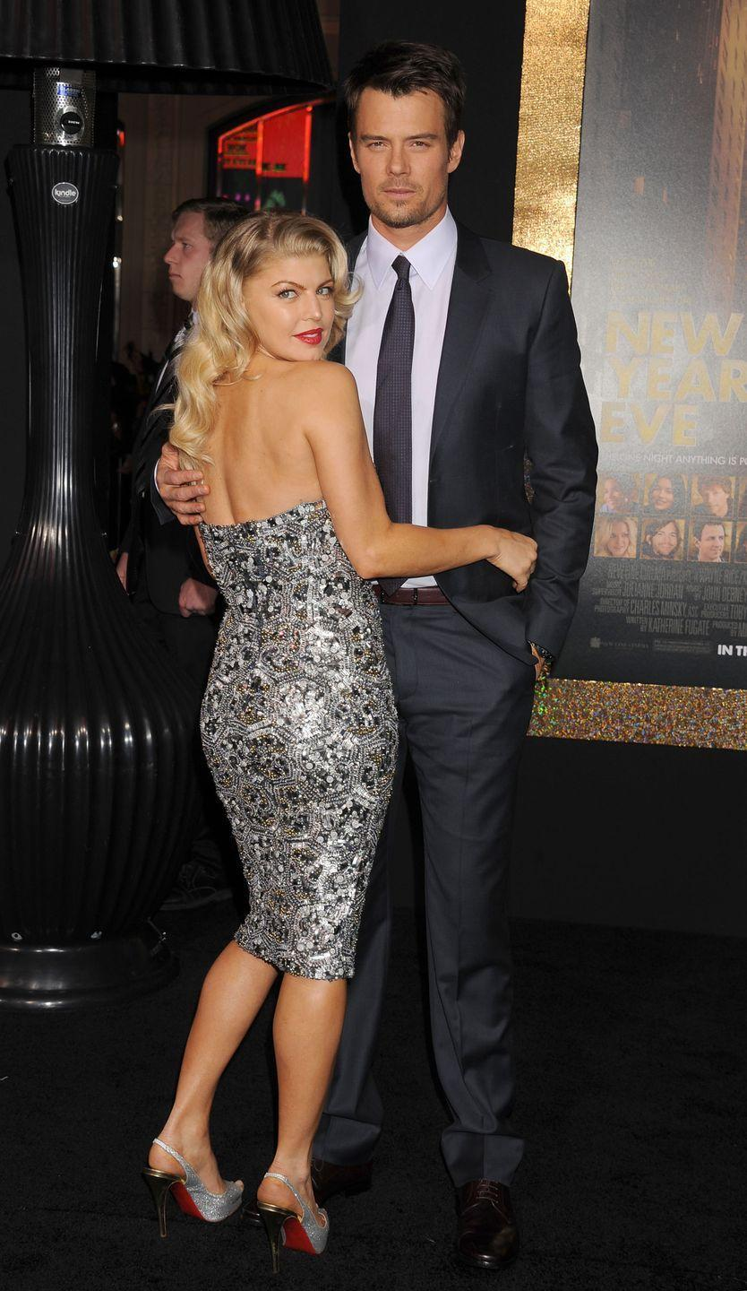 """<p>Though divorced now, Fergie and Josh were stronger than ever after a stripper named Nicole Forrester claimed she'd had a one-night stand with Josh, per <a href=""""https://people.com/celebrity/fergie-josh-duhamel-husband-separation-marriage-2009-cheating-scandal/"""" rel=""""nofollow noopener"""" target=""""_blank"""" data-ylk=""""slk:People"""" class=""""link rapid-noclick-resp""""><em>People</em></a><em>.</em> The news came just nine months after he married Fergie in 2009.</p>"""