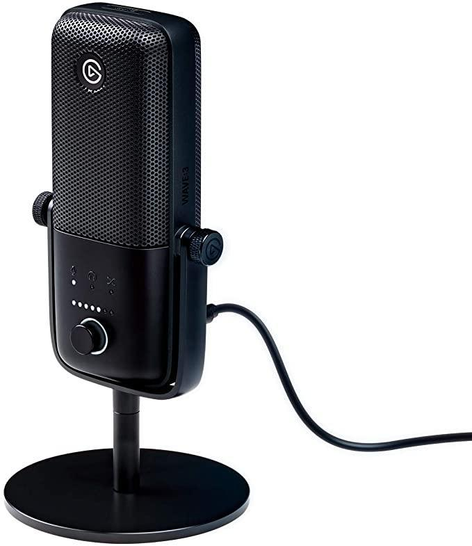 best microphone for streaming - Elgato Wave: 3