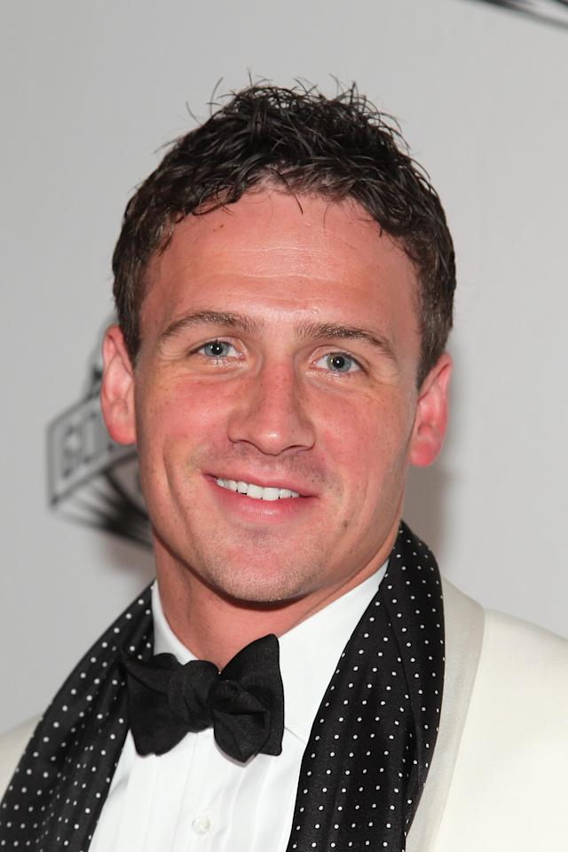 LOS ANGELES, CA - NOVEMBER 20: Ryan Lochte attends the 2011 Golden Goggles at JW Marriott Los Angeles at L.A. LIVE on November 20, 2011 in Los Angeles, California. (Photo by Noel Vasquez/Getty Images for USA Swimming)