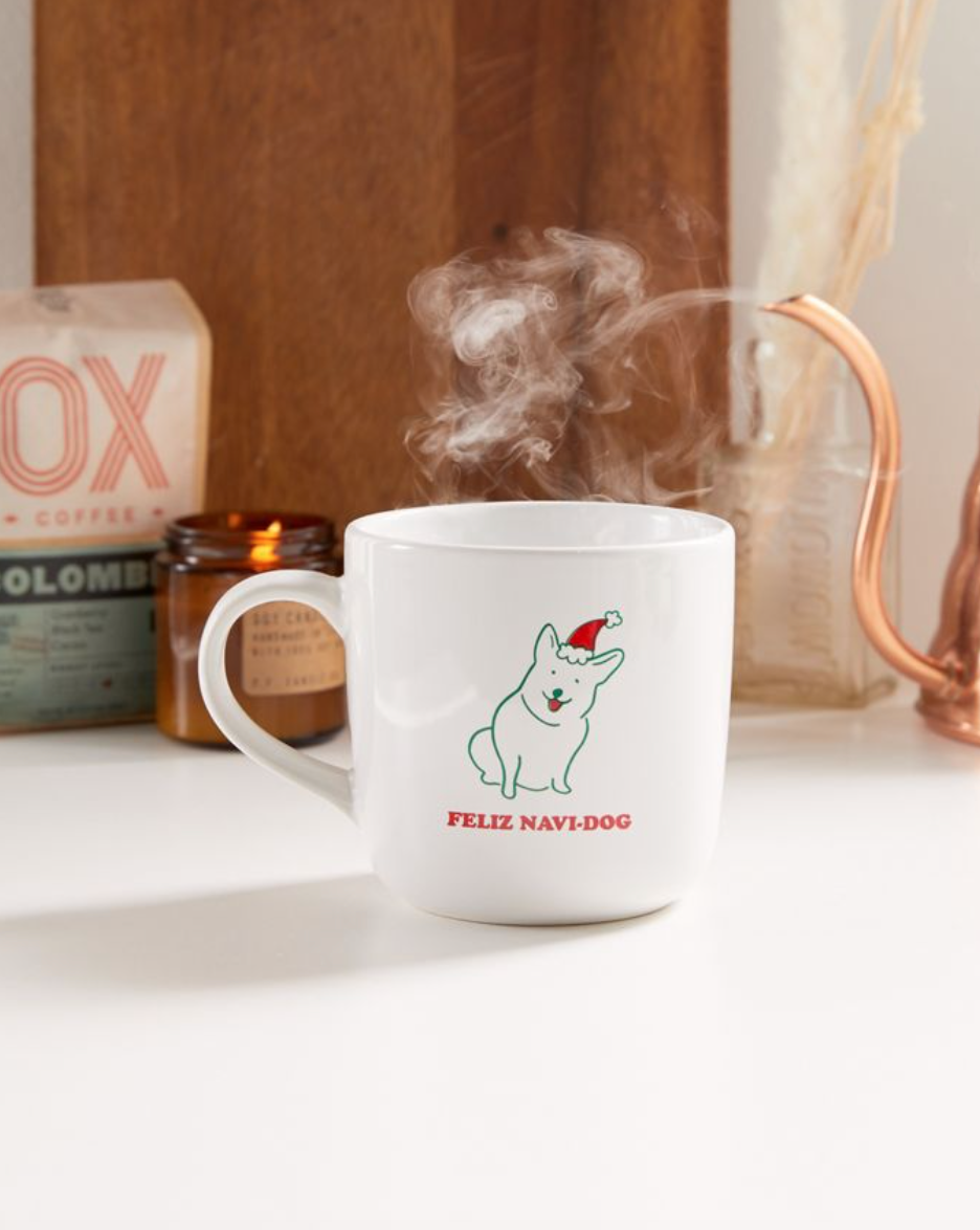 Feliz Navi Dog Mug (Photo via Urban Outfitters)
