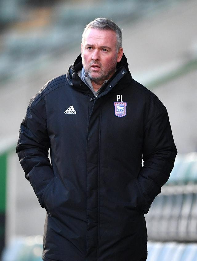 Ipswich manager Paul Lambert says testing at EFL level must increase