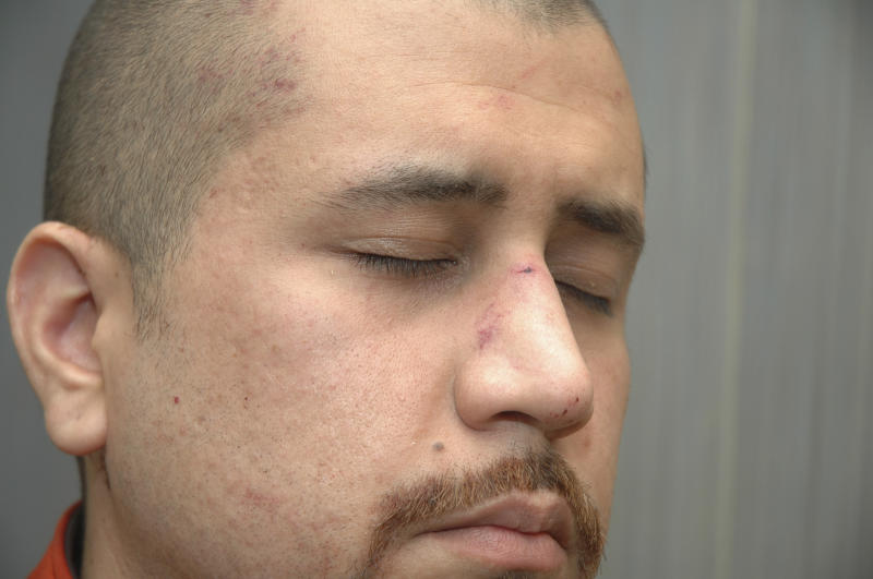 This Feb. 27, 2012 photo released by the State Attorney's Office shows George Zimmerman, the neighborhoodwatch volunteer who shot Trayvon Martin. The photo and reports were among evidence released by prosecutors that also includes calls to police, video and numerous other documents. The package was received by defense lawyers earlier this week and released to the media on Thursday, May 17, 2012. (AP Photo/State Attorney's Office)