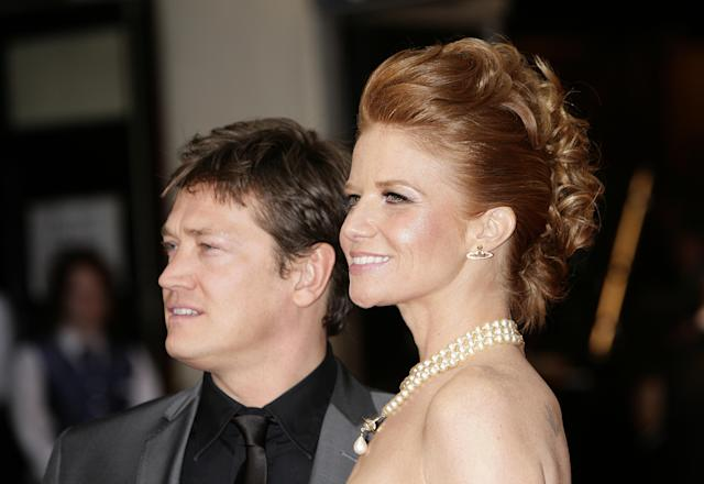 Sid Owen and Patsy Palmer, aka <em>EastEnders</em>' Ricky and Bianca Butcher. (Getty Images)