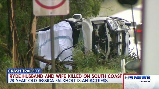 The sisters lost both of their parents in the crash. Copyright: [9News]