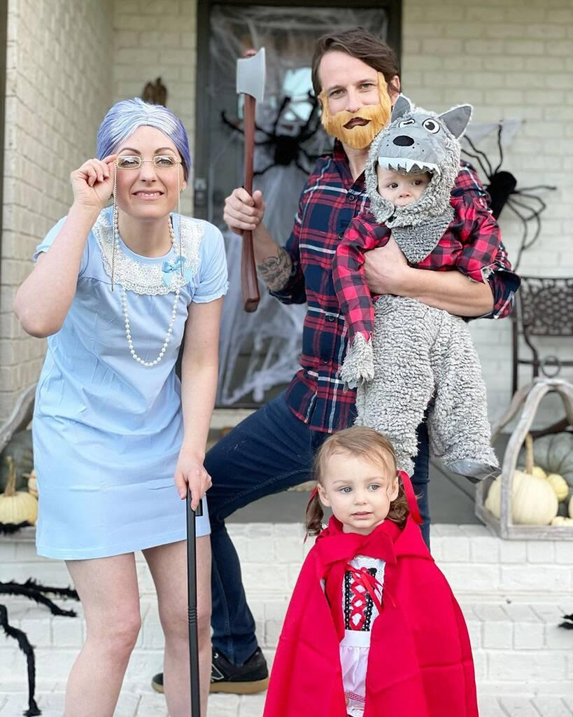 Evan Bass, Carly Waddell, Halloween 2020