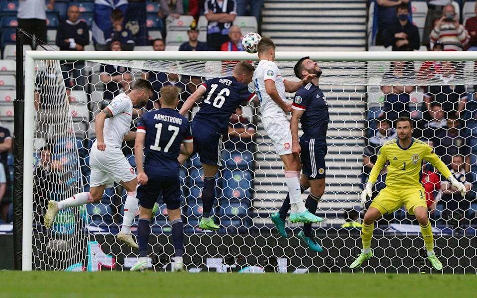 Schick scores his first - Andrew Milligan/PA