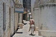 Tourism is a major earner for the historic town of Lamu but a fragile one
