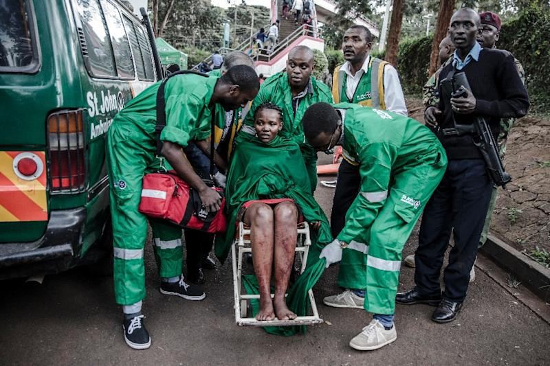The 20-hour siege in Nairobi left 14 people dead and dozens more injured (AFP Photo/Luis TATO, Luis TATO)
