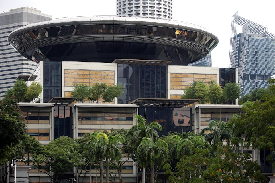 Singapore's Supreme Court. (PHOTO: Yahoo News Singapore)