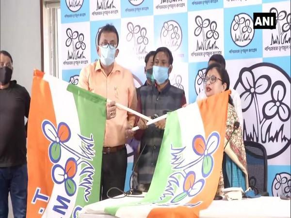 AIMIM leaders joined TMC in Kolkata (Photo/ANI)