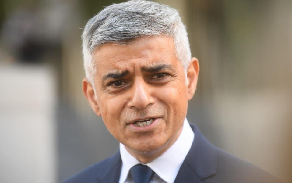 London's Mayor, Sadiq Khan, hit back at Boris Johnson after the Prime Minister placed TfL's financial problems at his door - Getty Images Europe
