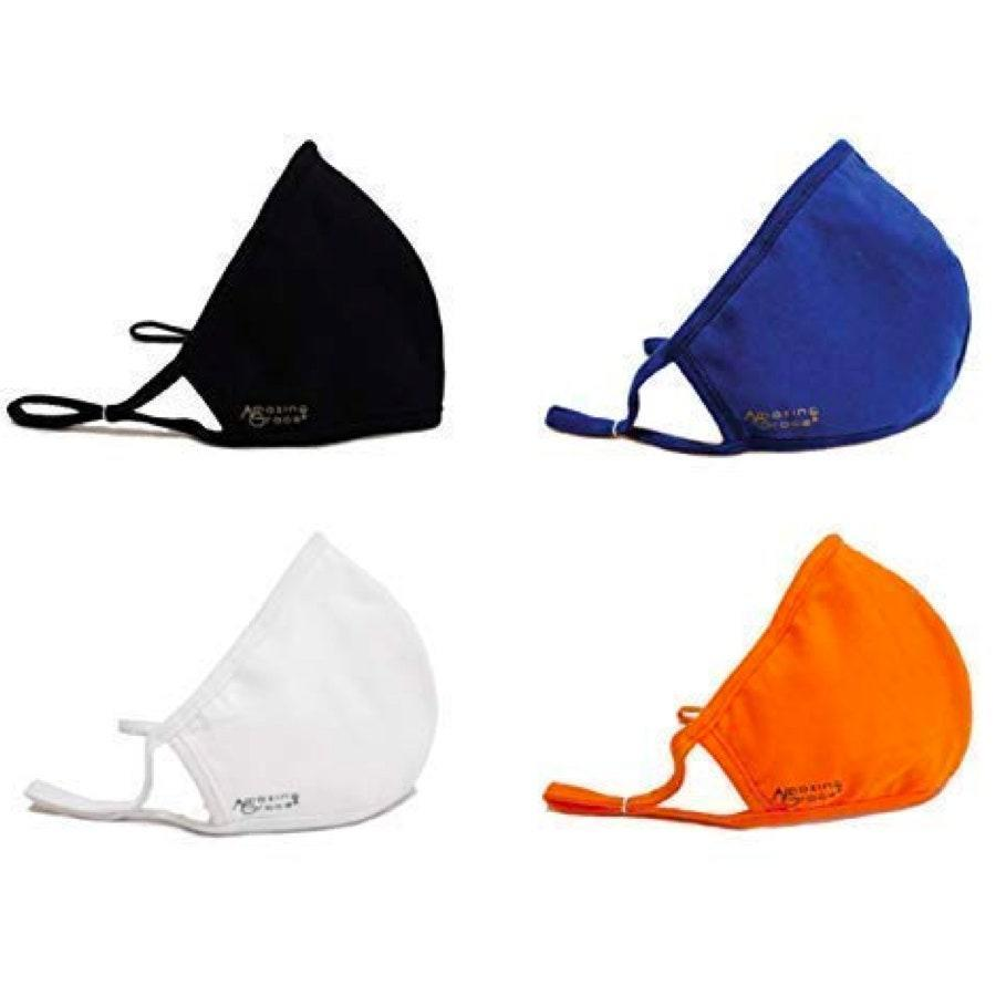 """<p><strong>Star rating:</strong> 4.2 out of 5</p> <p><strong>Key selling points:</strong> 100% cotton with built-in protection filters, adjustable ear loop, and wire to lay snug and contour to face and nose; available in a range of colors.</p> <p><strong>What customers say:</strong> """"Today I received the masks. White, black, royal blue, and orange. I was so pleased. I love the colors. The ear loops have a ring around them that is moveable so that one can make an adjustment so that it can be made to fit snuggly behind the ear. Over the nose is the wire so that the mask fits snugly over the nose. The packaging is great and the company logo is Amazing Grace. If they had other colors, I would order them as well."""" —<a href=""""https://amzn.to/323tFQu"""" rel=""""nofollow noopener"""" target=""""_blank"""" data-ylk=""""slk:Brigitte"""" class=""""link rapid-noclick-resp""""><em>Brigitte</em></a></p> $28, Amazon. <a href=""""https://www.amazon.com/Face-Mask-Built-Protection-Filters/dp/B087WPLDKV/ref=cm_cr_srp_d_product_top"""" rel=""""nofollow noopener"""" target=""""_blank"""" data-ylk=""""slk:Get it now!"""" class=""""link rapid-noclick-resp"""">Get it now!</a>"""