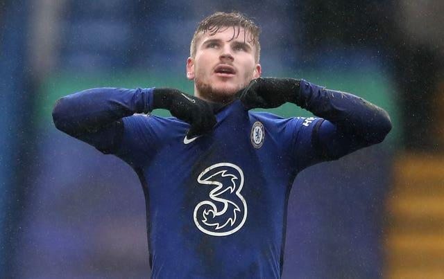 Timo Werner has scored only once in his last 14 appearances for Chelsea