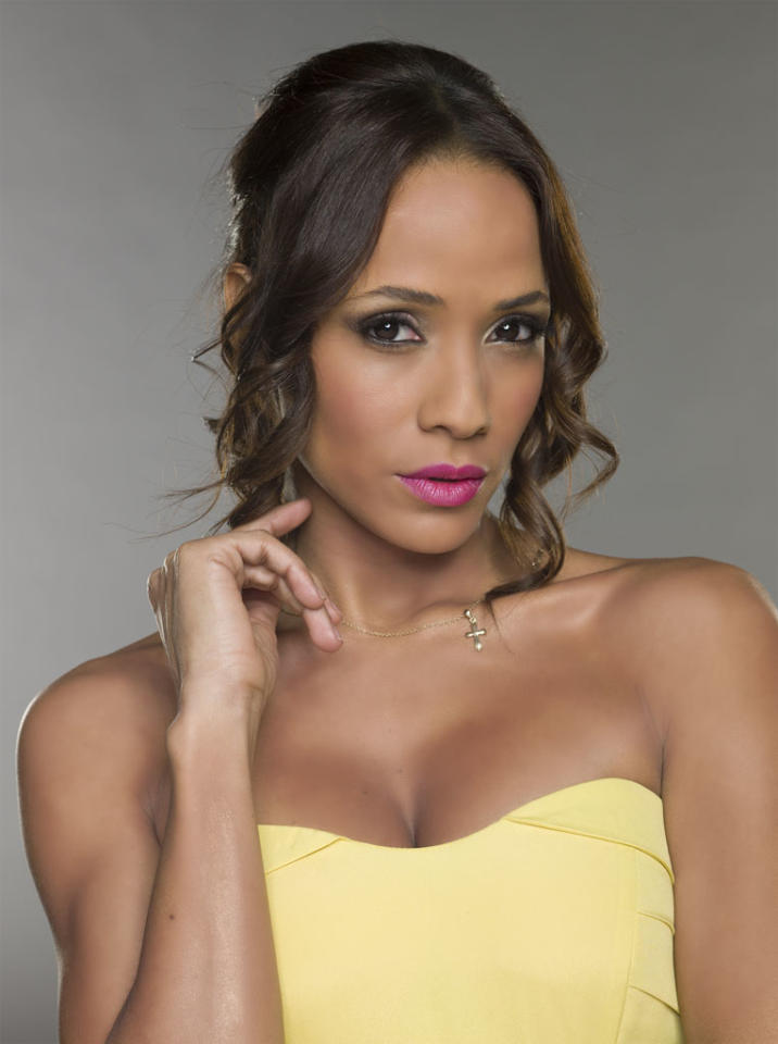 "Dania Ramirez in the Lifetime series ""Devious Maids."""