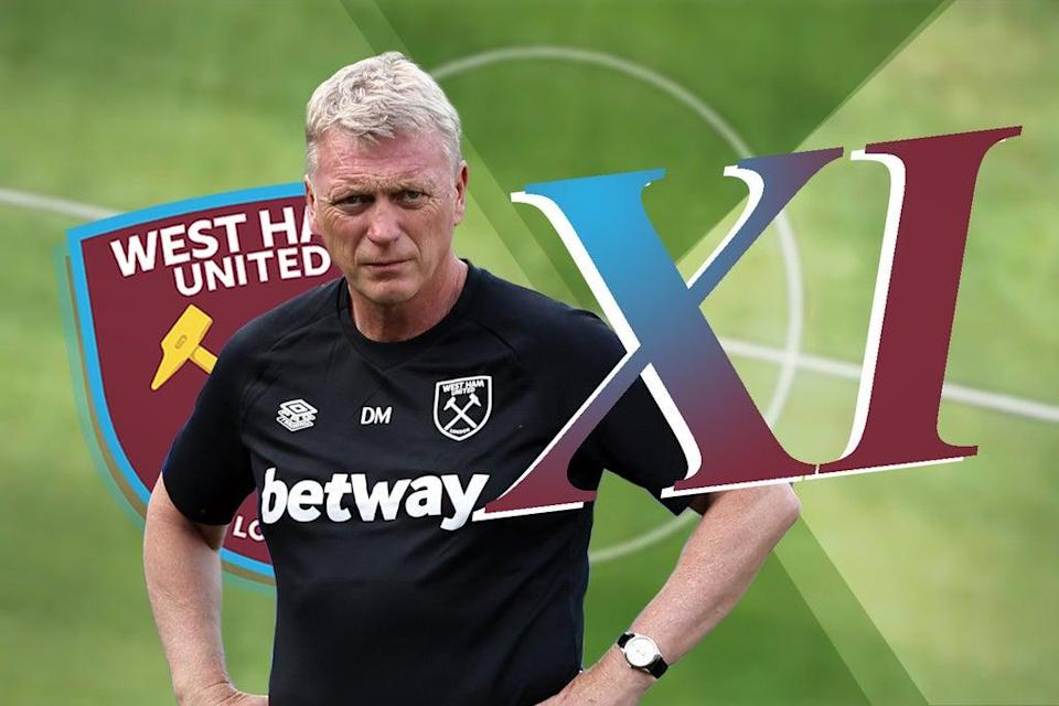 David Moyes will make changes for West Ham's latest clash with Manchester United  (ES Composite)