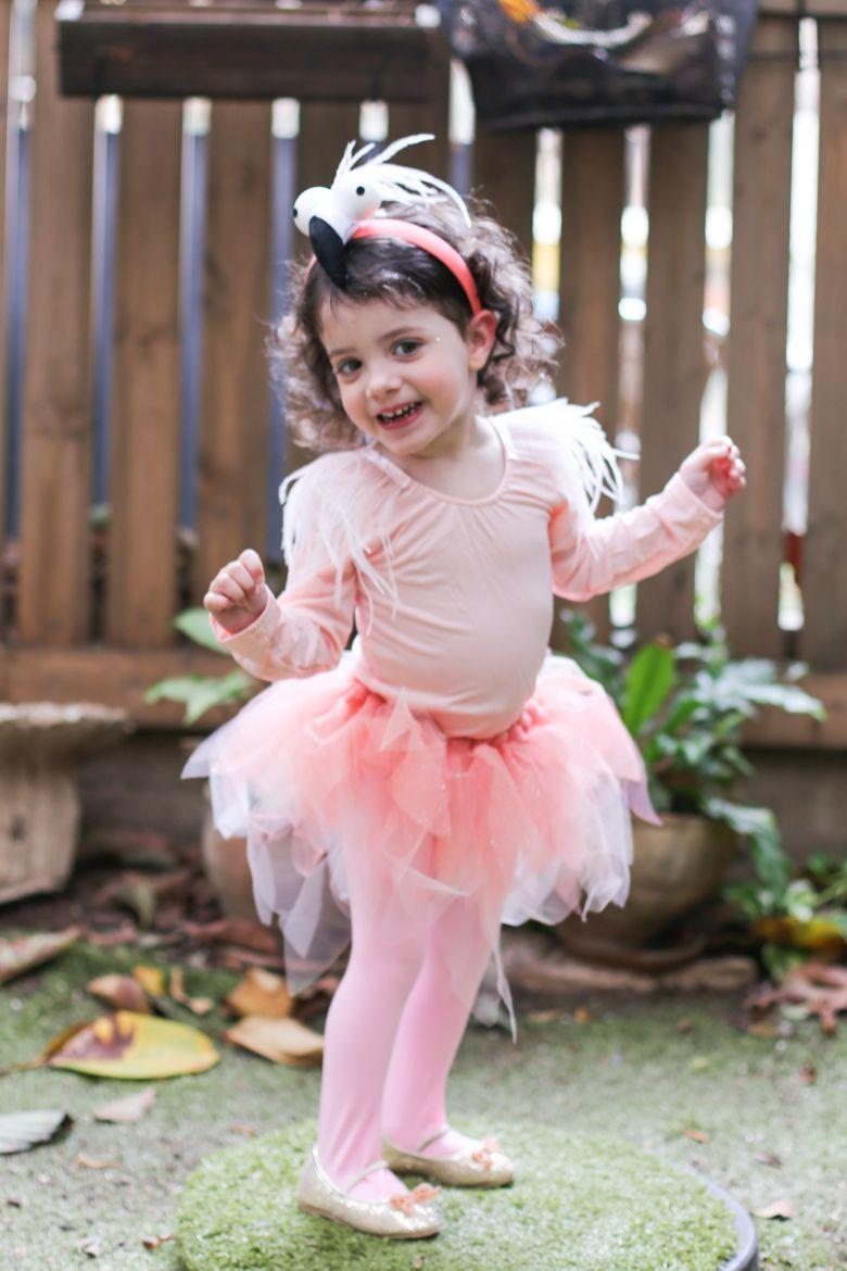 """<p>No one will be able to be in a <em>fowl </em>mood when they see your little sweetie dressed as an on-trend flamingo.</p><p><strong>Get the tutorial at <a href=""""https://www.shlomitofir.com/flamingos/"""" rel=""""nofollow noopener"""" target=""""_blank"""" data-ylk=""""slk:The Small Details"""" class=""""link rapid-noclick-resp"""">The Small Details</a>.</strong></p><p><strong><a class=""""link rapid-noclick-resp"""" href=""""https://www.amazon.com/slp/tutus-for-toddler/vdqfknvzofj27f9?tag=syn-yahoo-20&ascsubtag=%5Bartid%7C10050.g.4975%5Bsrc%7Cyahoo-us"""" rel=""""nofollow noopener"""" target=""""_blank"""" data-ylk=""""slk:SHOP TUTUS"""">SHOP TUTUS</a></strong></p>"""