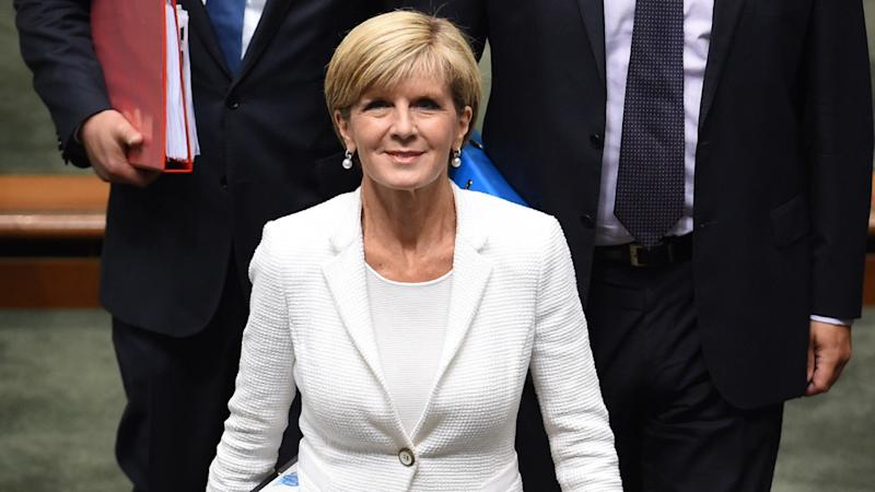 Julie Bishop says a regional summit on tackling the spread of extremism will be held in Australia.