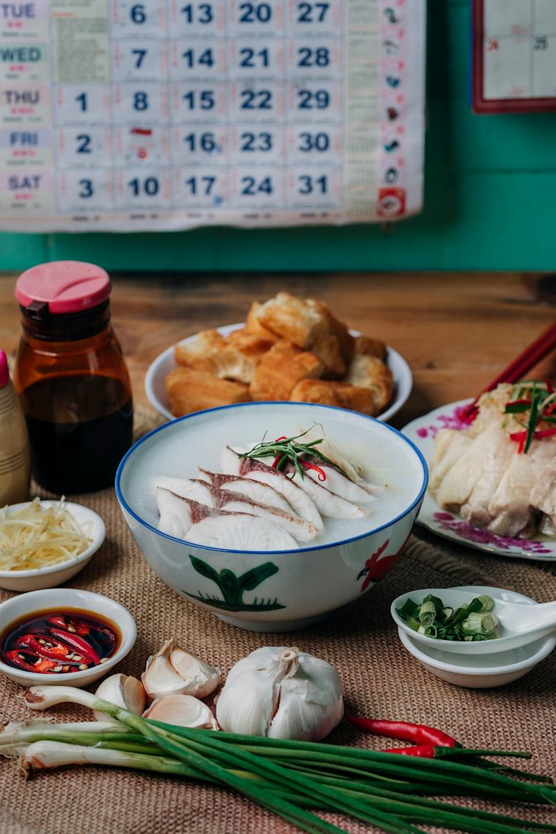 Ah Chiang's fish porridge. (PHOTO: Ah Chiang's Porridge)