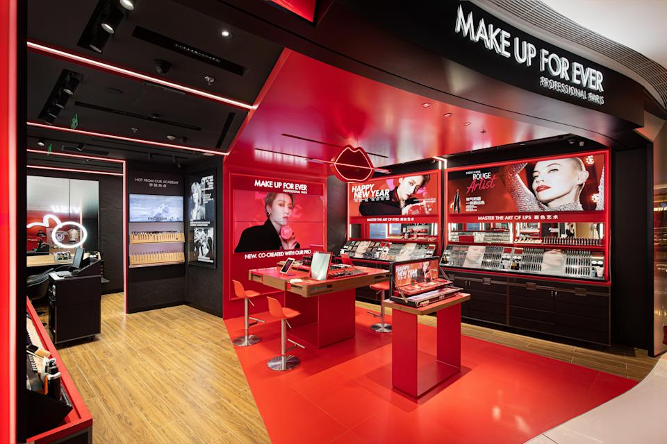 Inside Shanghai's IFC Mall - Credit: Courtesy of Make Up For Ever