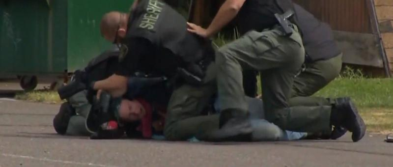 A still image from the video, which can be found below. (Photo: Youtube/KGW News)