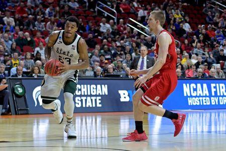 NCAA Basketball: NCAA Tournament-First Round-Bradley vs Michigan State