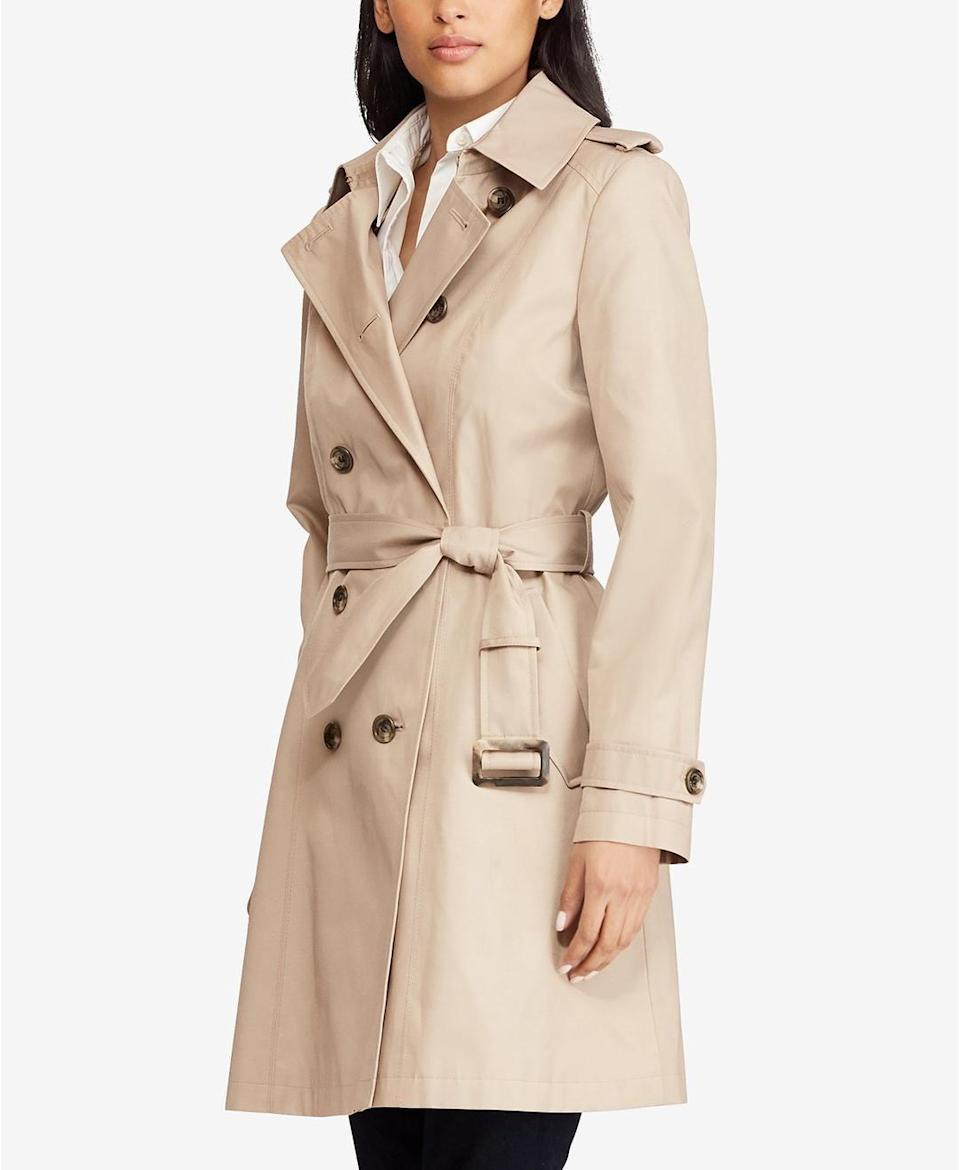 You can't go wrong with a classic trench, especially at this price point.