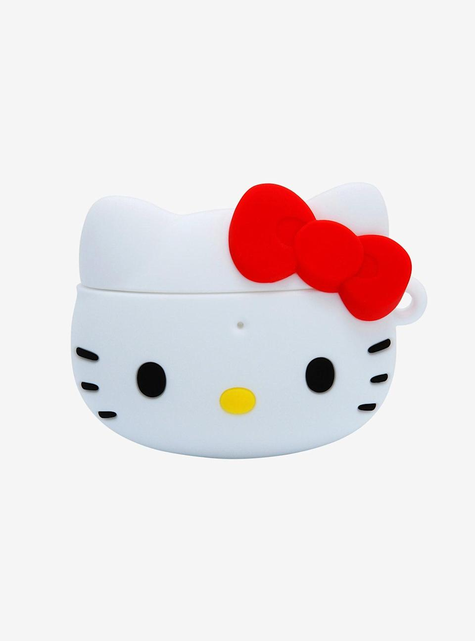 <p>This <span>Sanrio Hello Kitty Wireless Earbuds Case</span> ($20) is both cute and practical!</p>