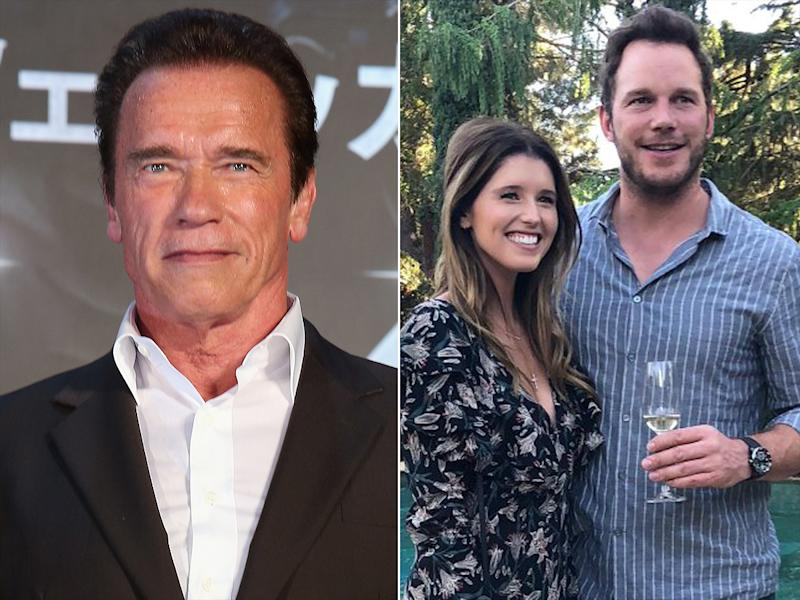 Arnold Schwarzenegger Opens Up About Katherine S Engagement To Chris Pratt For The First Time