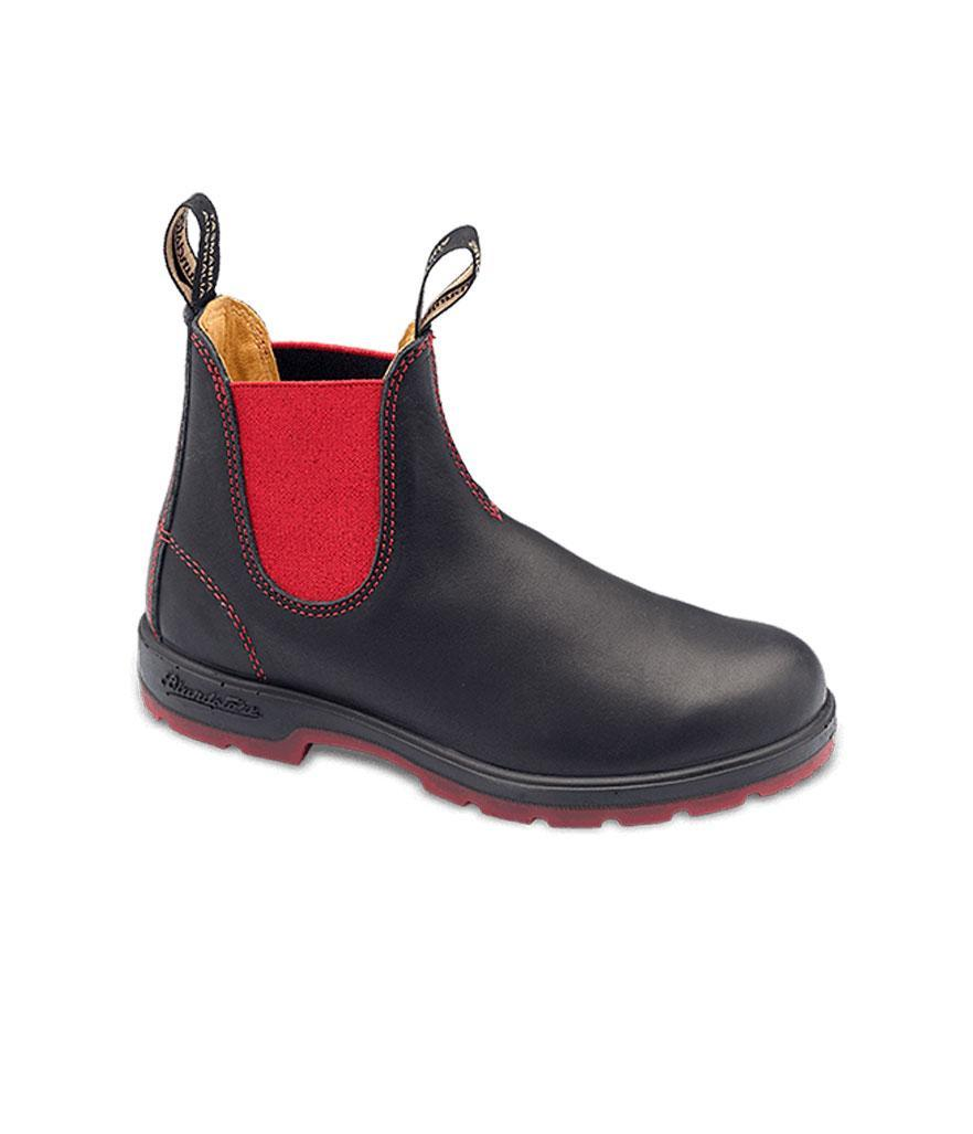 """<p>These cool Céline-style rubber Chelsea boots will get you through even the toughest winter weather in style.<br><a href=""""https://fave.co/2qwwXb6"""" rel=""""nofollow noopener"""" target=""""_blank"""" data-ylk=""""slk:Shop it:"""" class=""""link rapid-noclick-resp"""">Shop it:</a> Super 550 Boots, $200, <a href=""""https://fave.co/2qwwXb6"""" rel=""""nofollow noopener"""" target=""""_blank"""" data-ylk=""""slk:blundstone.com"""" class=""""link rapid-noclick-resp"""">blundstone.com</a> </p>"""
