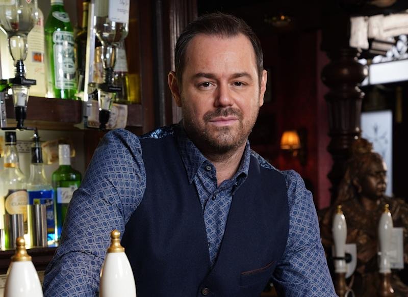 Danny Dyer plays 'EastEnders' pub landlord Mick Carter (BBC)