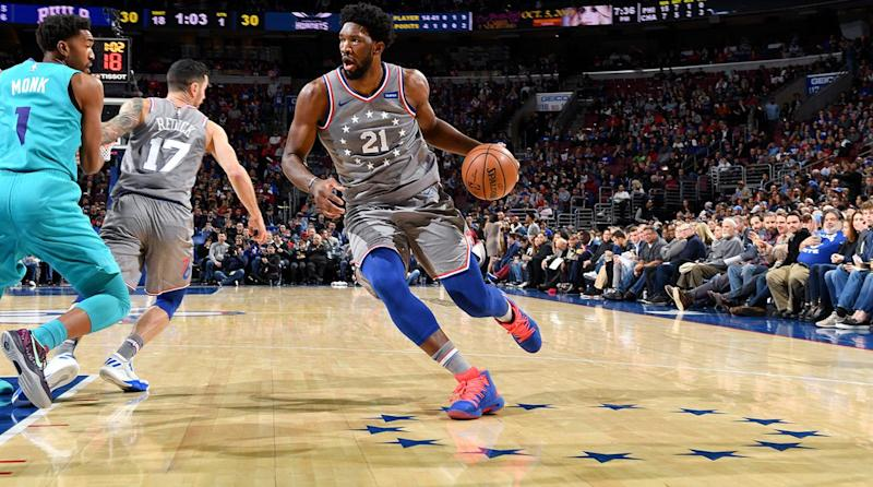 3da01fb93 Joel Embiid Uses a Tactic From a Former MVP to Help Boost His Own Case for  the Award