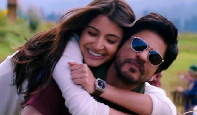 Shah Rukh Khan and Anushka Sharma