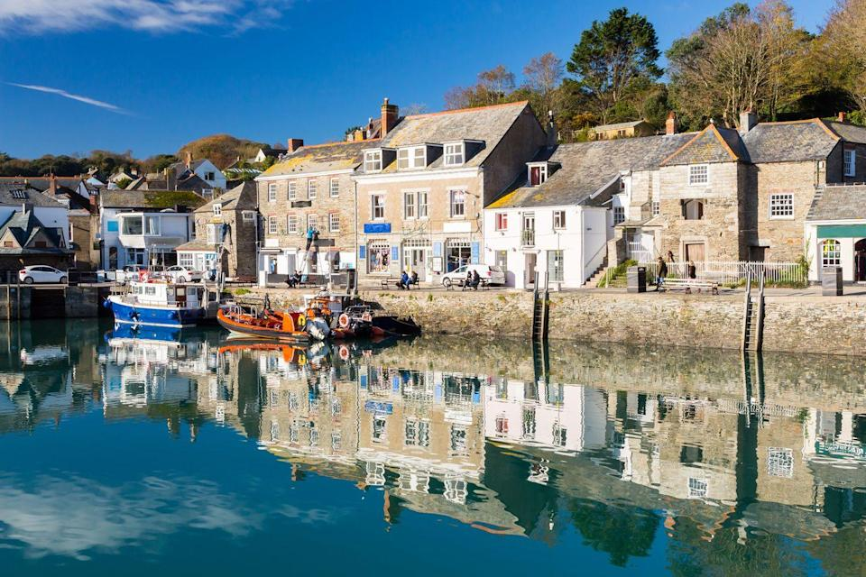 """<p>A famous foodie hangout, Padstow is situated on the north coast of Cornwall, and has all the sandy beaches you could need. Be sure to check out The Camel Trail while you're there, as well as the fishing port and one of Rick Stein's restaurants. </p><p><br><a class=""""link rapid-noclick-resp"""" href=""""https://go.redirectingat.com?id=127X1599956&url=https%3A%2F%2Fwww.airbnb.co.uk%2Fpadstow-united-kingdom%2Fstays&sref=https%3A%2F%2Fwww.cosmopolitan.com%2Fuk%2Fentertainment%2Ftravel%2Fg30397906%2Fbest-places-to-visit-uk%2F"""" rel=""""nofollow noopener"""" target=""""_blank"""" data-ylk=""""slk:BOOK NOW"""">BOOK NOW</a></p>"""