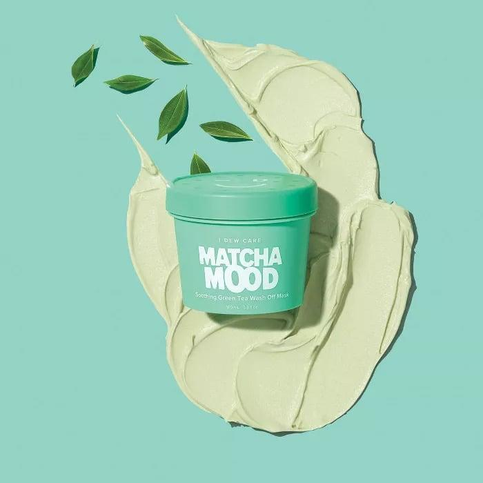 <p>If you have reactive, inflammed skin, you'll love using the <span>I Dew Care Matcha Mood Soothing Green Tea Wash-Off Mask</span> ($18). It contains antioxidant-rich matcha, soothing aloe, and vitamin B3 to help improve dullness and uneven skin tone while nourishing the skin.</p>