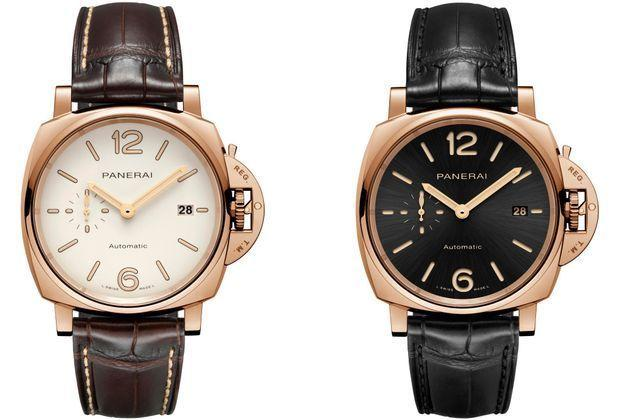 Panerai : la nouvelle Luminor Due s'habille d'or