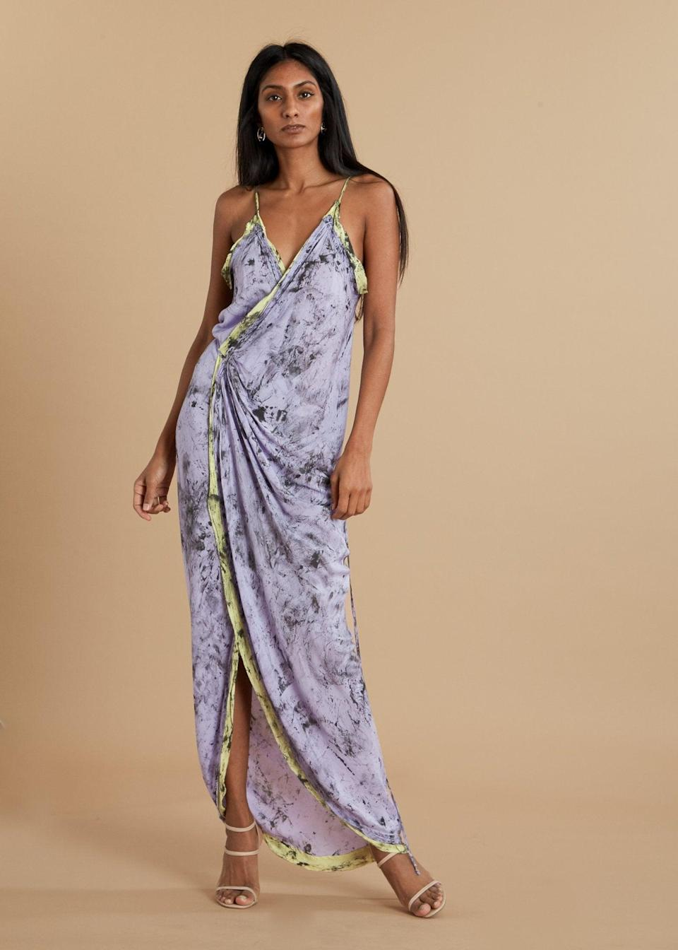 """<br><br><strong>W35T</strong> Purple Hibiscus Wrap Dress, $, available at <a href=""""https://go.skimresources.com/?id=30283X879131&url=https%3A%2F%2Fwww.thefolklore.com%2Fcollections%2Fwomens-dresses-jumpsuits%2Fproducts%2Fw35t-purple-hibiscus-wrap-dress"""" rel=""""nofollow noopener"""" target=""""_blank"""" data-ylk=""""slk:The Folklore"""" class=""""link rapid-noclick-resp"""">The Folklore</a>"""