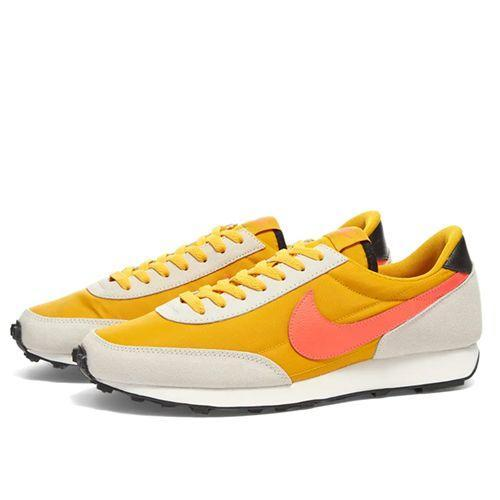 """<p><a class=""""link rapid-noclick-resp"""" href=""""https://go.redirectingat.com?id=127X1599956&url=https%3A%2F%2Fwww.endclothing.com%2Fgb%2Fnike-daybreak-w-ck2351-701.html&sref=https%3A%2F%2Fwww.esquire.com%2Fuk%2Fstyle%2Fg27945626%2Fmens-summer-shoes%2F"""" rel=""""nofollow noopener"""" target=""""_blank"""" data-ylk=""""slk:SHOP"""">SHOP</a></p><p><strong>Best For: </strong>The sneakerhead unchained</p><p>Nike, a pioneer of the sneaker movement, is a surefire choice for summer: you've got colour, brand prestige and something that'll make you feel inexplicably cool, a lot like those surly teenagers in the perpetual queue at Supreme.</p><p>£79; <a href=""""https://go.redirectingat.com?id=127X1599956&url=https%3A%2F%2Fwww.endclothing.com%2Fgb%2Fnike-daybreak-w-ck2351-701.html&sref=https%3A%2F%2Fwww.esquire.com%2Fuk%2Fstyle%2Fg27945626%2Fmens-summer-shoes%2F"""" rel=""""nofollow noopener"""" target=""""_blank"""" data-ylk=""""slk:endclothing.com"""" class=""""link rapid-noclick-resp"""">endclothing.com</a></p>"""