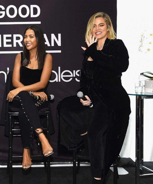 PHOTO: Khloe Kardashian celebrates the launch of Good American at Bloomingdale's on Oct. 28, 2017 in N.Y.C. (Jamie McCarthy/Getty Images, FILE)