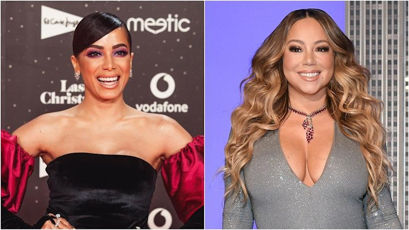 Anitta Freaks Out Over Run-In With Her 'No. 1 Queen' Mariah Carey