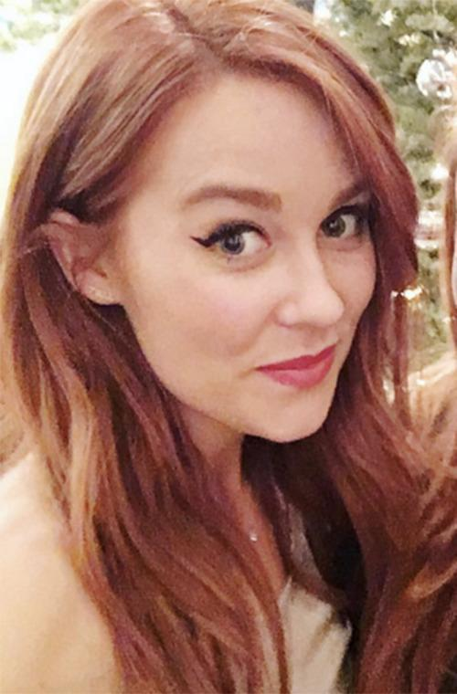 <br>The star switched her trademark beach-blonde tresses for a vibrant shade of red and unveiled her new look on Instagram.